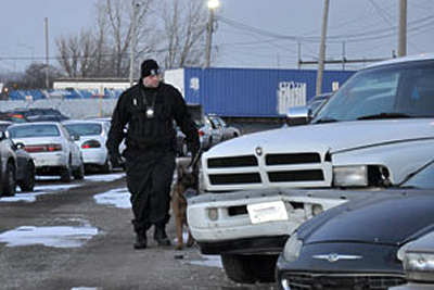 k-9 patrol action k-9 security inc chicago illinois
